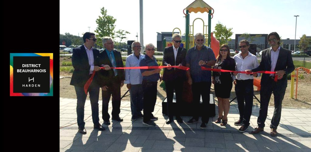Inauguration of District Beauharnois