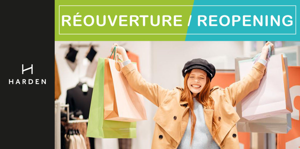 Re-opening of retail stores