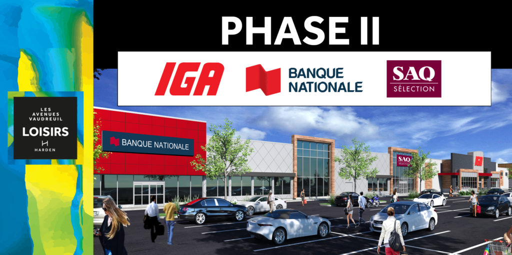 Avenue Loisirs Growing rapidly : PHASE II