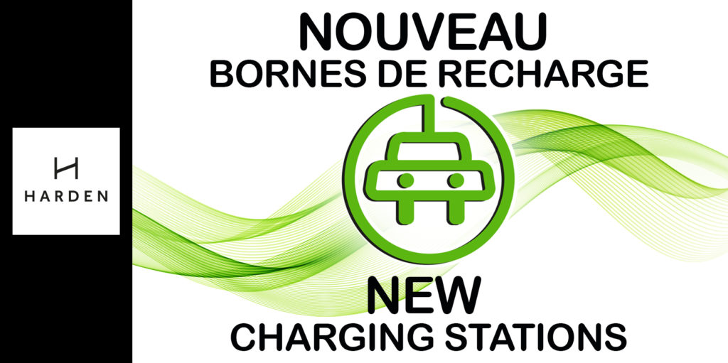 Even more services : Electric vehicle charging stations