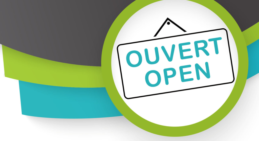 Our shopping centers are open