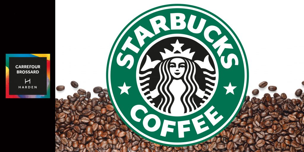 Starbucks opening soon at Carrefour Brossard
