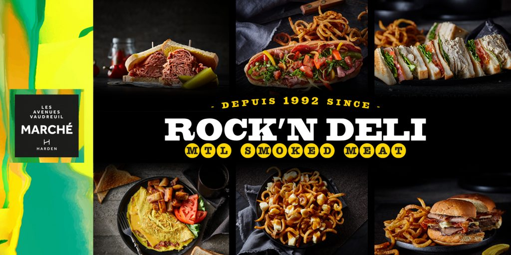Opening soon at Avenue Marché: the restaurant Rock'N Deli