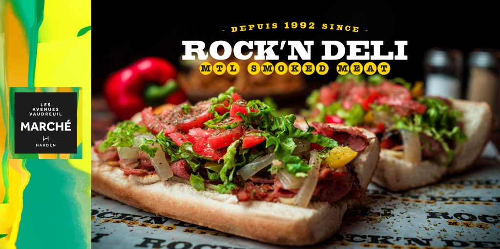 Grand opening of Rock'N Deli at Avenue Marché